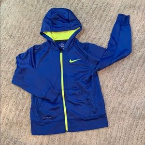 Boys Nike Zip Up